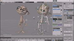 Blender Grease Pencil Animation & Easy Rigging