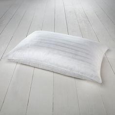 Buy John Lewis Superior Siberian Goose Feather & Down Standard Pillow, Medium/Firm Online at johnlewis.com