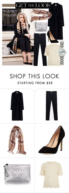 """Get the Look - Victoria Magrath"" by randomfashioncollections ❤ liked on Polyvore featuring Thierry Mugler, Zara, La Fiorentina, Neiman Marcus, Anya Hindmarch, Valentino, GetTheLook and victoriamagrath"
