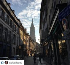 #Repost @abigailsace Selfies and saints in Stasbourg #ispyapi #studyabroad @stonehillabroad