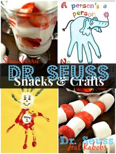Dr. Seuss Snacks and Crafts | This Girls Life Blog