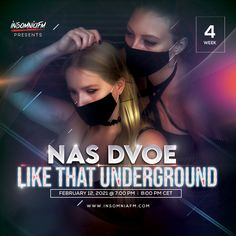 Nas Dvoe - Like That Underground Week 04 on Insomniafm - February 2021 February, News, Movies, Movie Posters, Film Poster, Films, Popcorn Posters, Film Books, Movie