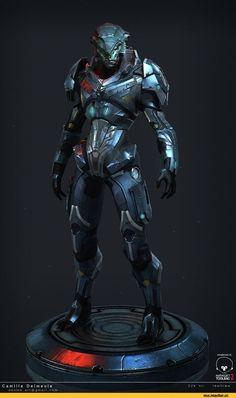 Prothean,ME расы,Mass Effect,фэндомы