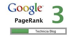 Google Page Rank Update for my Blog..