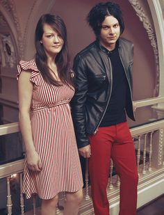 Jack & Meg White The White Stripes