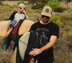 Native Surf Tee. #ironandresin #InR #freedomriders