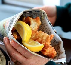 The Secret to Fish and Chips-Anne Burrell