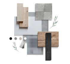 Mood Board Interior, Interior Design Boards, Paint Colors For Home, House Colors, Palette Deco, Interior Design Presentation, Material Board, Mood And Tone, Workplace Design