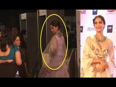 Sonam Kapoor beautiful at the red carpet of 61st Britannia Filmfare Awards 2016.