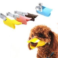 Novelty silicone cute duck mouth design dog mask muzzle Bark bite stop anti-bite mask For Pet dog #clothing,#shoes,#jewelry,#women,#men,#hats,#watches,#belts,#fashion,#style