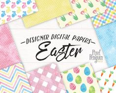 Easter comes but once a year…but Easter digital scrapbook paper is here all year round! This printable paper pack is your ticket to fun Spring designs with fresh pastel colours and watercolor patterns. >> Click through to see all 10 patterns Spring Projects, Spring Design, Pattern Paper, Paper Patterns, Create Words, Digital Scrapbook Paper, Summer Patterns, Watercolor Pattern, Printable Paper