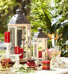 Enjoy a tropical escape with Pier 1 Island Orchard Candles decor, lantern, idea, candl insid, flyer jan, orchard, pier, mar, import flyer