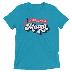 e34e26af8 American Mama Short sleeve t-shirt • County Road Nine #patriotictees  #patriotictshirts #
