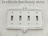 A blog about re-purposing vintage wood furniture, with many tutorials that include tips and tricks how to achieve the look you want in your décor. SHABBY CHIC SWITCH PLATE AVAILABLE AT FIRSTFINDS HARDWARE STORE ON ETSY