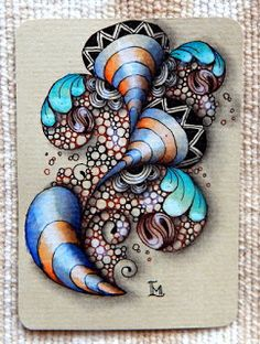 Art Ed Central loves: Lily's Tangles: Diva's Weekly Challenge #225 GUEST BLOGGER: Jen Crutchfield CZT