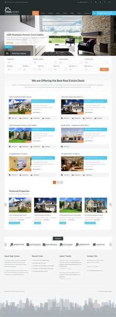Real Homes - WordPress Real Estate Theme Live Preview and Download: http://themeforest.net/item/real-homes-wordpress-real-estate-theme/5373914?ref=ksioks