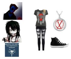 """(Y/N) Strange Love (Eyeless Jack X Reader X Jeff The Killer"" by forestunicorn on Polyvore"