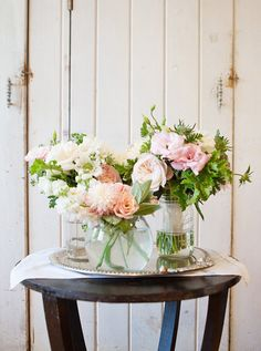 In our eyes, http://www.HollyFlora.com/ can do no wrong with her gorgeous flowers  Photography by http://llanesweddings.com