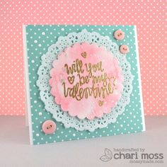 February Guest Designer: Chari Moss   Stock Update  - Products and inspiration from Neat And Tangled: http://neatandtangled.blogspot.com/