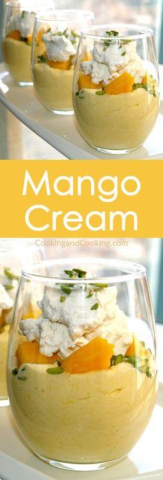 Mango Cream Recipe                                                                                                                                                                                 More