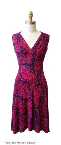 #Pink Karina Dresses on sale! This #paisley Jenny style for $99! #Frockstar cute!! www.shop.karinadresses.com