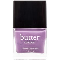 butter LONDON 3 Free Lacquer (19 CAD) ❤ liked on Polyvore featuring beauty products, nail care, nail polish, fillers, nails, makeup, beauty, butter london nail polish, butter london nail lacquer and butter london