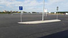Автомобильная парковка асфальтирование Wind Turbine