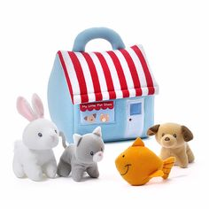 GUND wants to make playtime a more huggable experience — the My Little Pet Shop Playset is full of cute activity toys that are sure to delight young animal love Little Pet Shop, Little Pets, Toddler Toys, Kids Toys, Dog Sounds, Grey Kitten, Buy Toys, Activity Toys, Unique Birthday Gifts