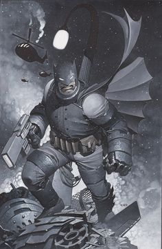 Dark Knight Returns by Chris Stevens