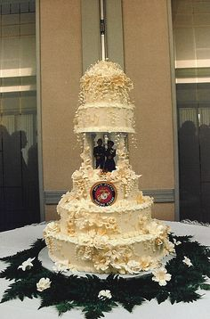 Marine Corps Wedding Cake Ideas | Marine Wedding Cake | Flickr - Photo Sharing!
