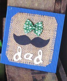 {DIY} Carte Moustache pour la fête des pères