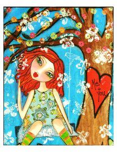 Me and You True Love Always Fine Art Print of by chloeandsofiasmom, $20.00