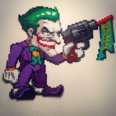 The Joker perler beads by  victor_sundman