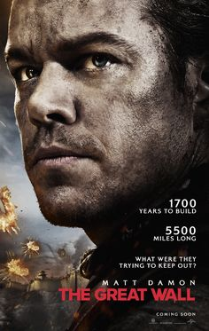 THE GREAT WALL starring Matt Damon | In theaters February 17, 2017