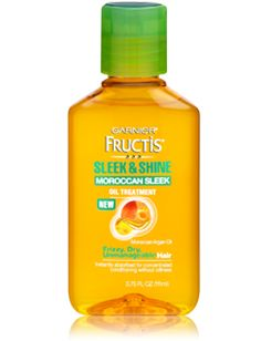 Garnier - Fructis - Sleek & Shine - Moroccan Sleek Oil Treatment