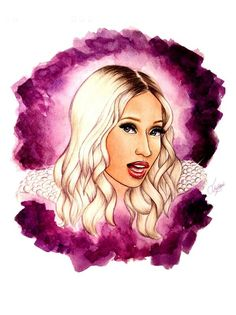 "Nicki Minaj ""i wanna be with you"" art"