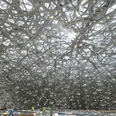In Progress: Louvre Abu Dhabi / Jean Nouvel http://archdai.ly/2aQwMTY Image © TDIC