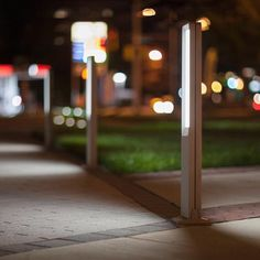 Tangent Bollards bring sleek style & nighttime visibility to this LEED Gold apartment complex. Arch: @the_preston_partnership . . . #led #lighting #outdoorliving #streetscape #bollard #streetelements #landarch #minimaldesign