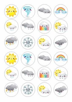 Preschool Weather, Weather Crafts, Weather Activities, School Age Activities, Preschool Art Activities, Toddler Learning Activities, Sensory Processing Disorder Toddler, Kindergarten Portfolio, Vintage Seed Packets