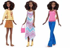 Tall Barbie African American Doll with 2 Extra Outfits Mix and Match Clothes New | eBay