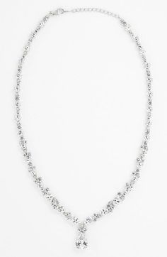 Nadri Teardrop Pendant Necklace (Nordstrom Exclusive) available at #Nordstrom