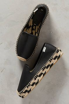 Soludos Leather Espadrilles