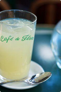 Citron presse Cafè de Flore...Paris