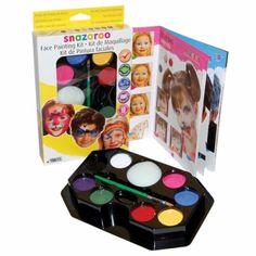 Unisex Snazaroo face paints kit http://www.wfdenny.co.uk/p/unisex-face-painting-kit/3635/