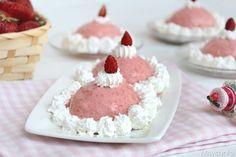 Delizie alle fragole, scopri la ricetta: http://www.misya.info/ricetta/delizie-alle-fragole.htm