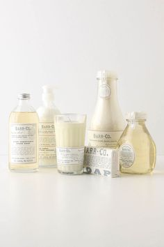 Barr Co. - every time i work i dream about buying this entire collection for my new bathroom. i looooooove this line.
