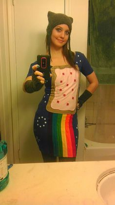 how to make a nyan cat costume