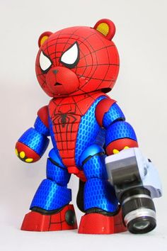 2014.06.03 KUMA-03 Beargguy III (san) as Spider-bear | Gundam Canada