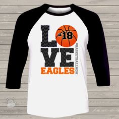 55be76770e2 13 Best Basketball Glitter Tees (TShirt) images | Personalized ...