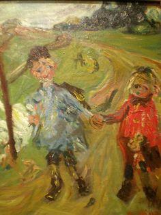 Chaim Soutine 'Children and Geese', 1934, Milwaukee Museum of Art, Milwaukee, Wisconsin | Flickr - Photo Sharing!